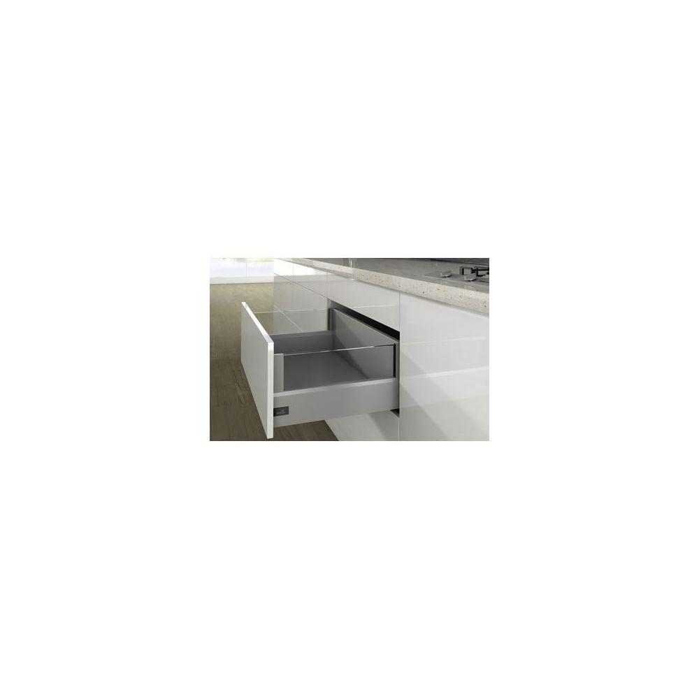 Hettich Kit arcitech 126 avec designside hauteur 250 - Décor : Blanc - Longueur : 450 mm - HETTICH