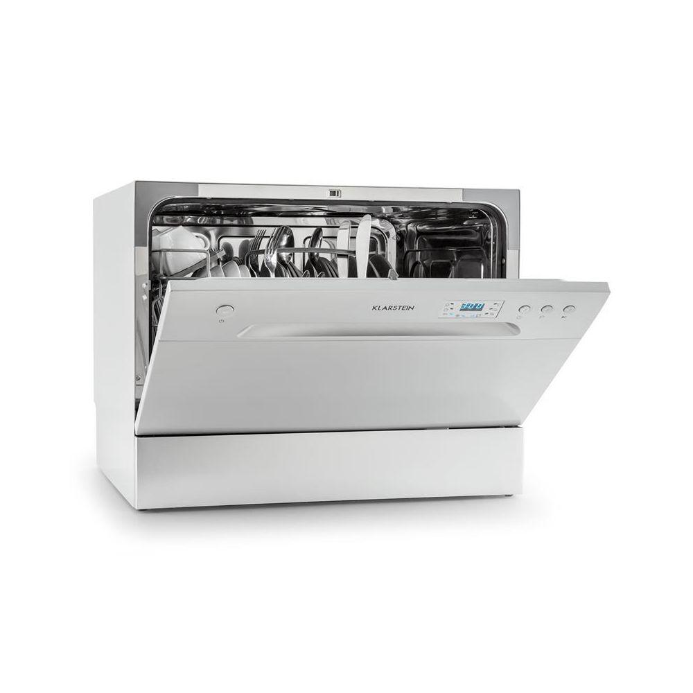 Klarstein Klarstein Amazonia 6 lave-vaisselle de table A+ 1380W 6 couverts 49 dB argent Klarstein
