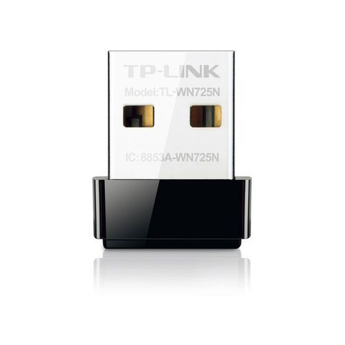 TP-LINK -150Mbps Wireless N Nano USB Adapter - TL-WN725N TP-LINK  - Modem / Routeur / Points d'accès