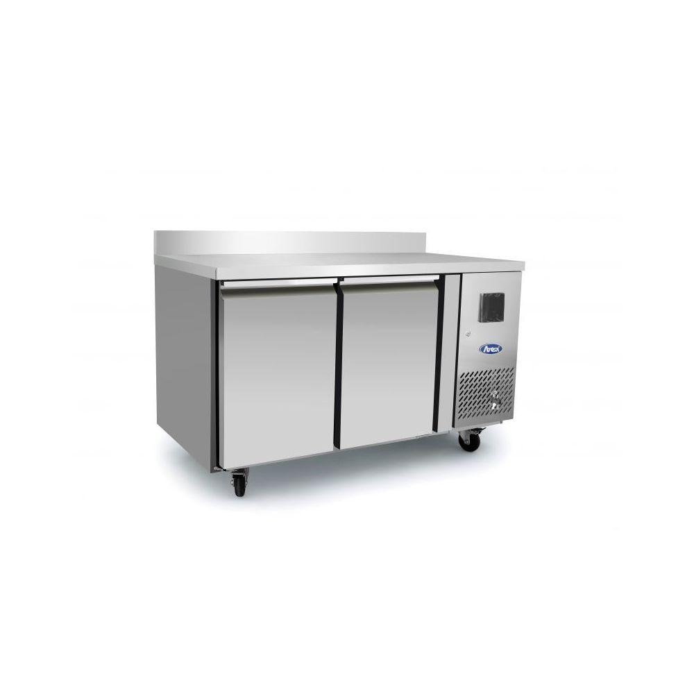 Atosa Table Réfrigérée Négative avec Dosseret - 2 Portes GN1/1 - Atosa - R290 2 Portes 700
