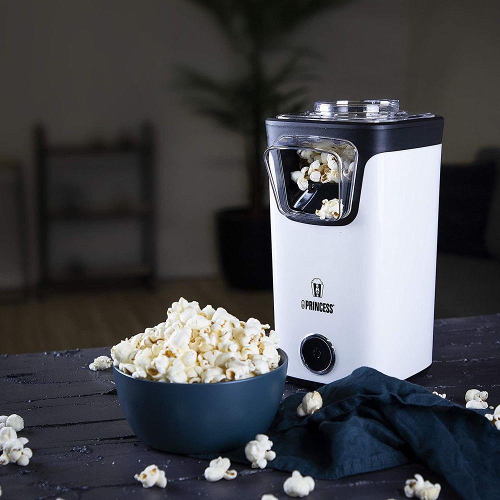 Princess machine à pop-corn électrique 1100W blanc noir