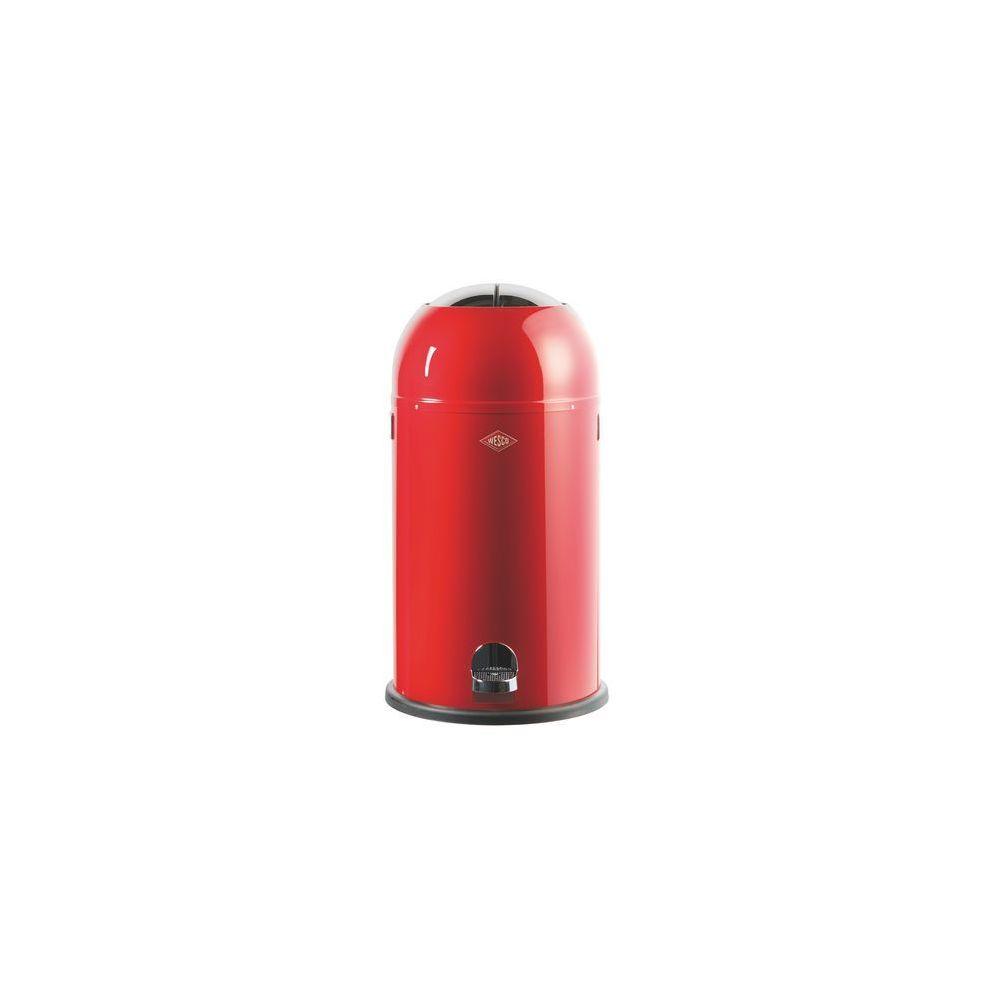 Wesco Poubelle Kickmaster Wesco rouge