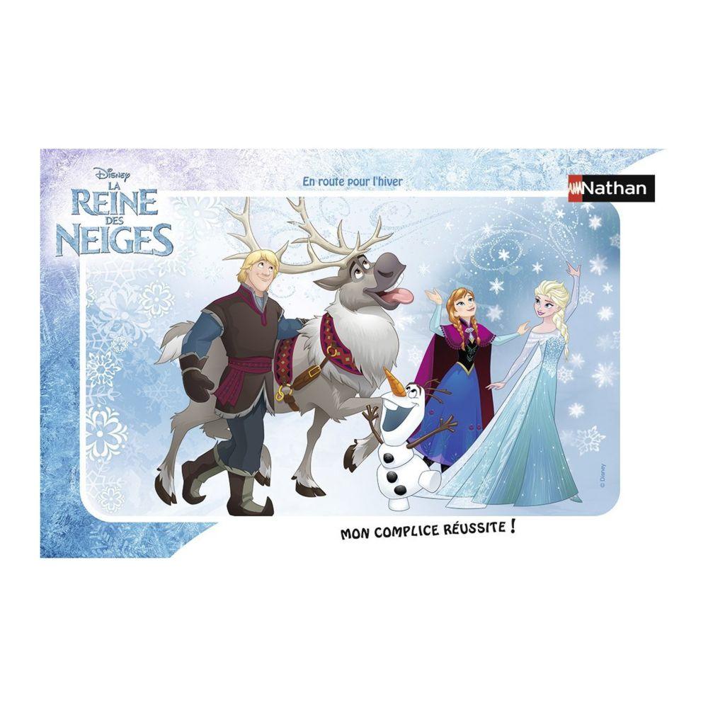 Nathan Puzzle 15 pièces : En route pour l'hiver, La Reine des Neiges (Frozen)