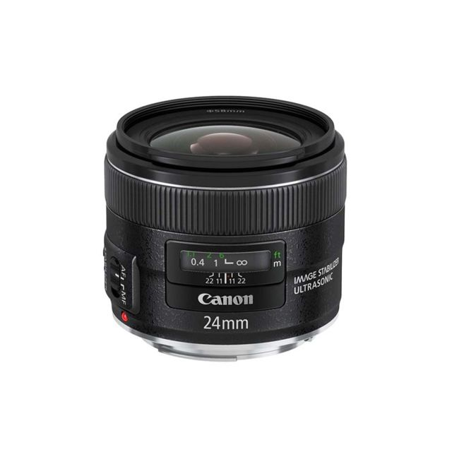 Canon - CANON Objectif EF 24 mm f/2.8 IS USM - Objectifs