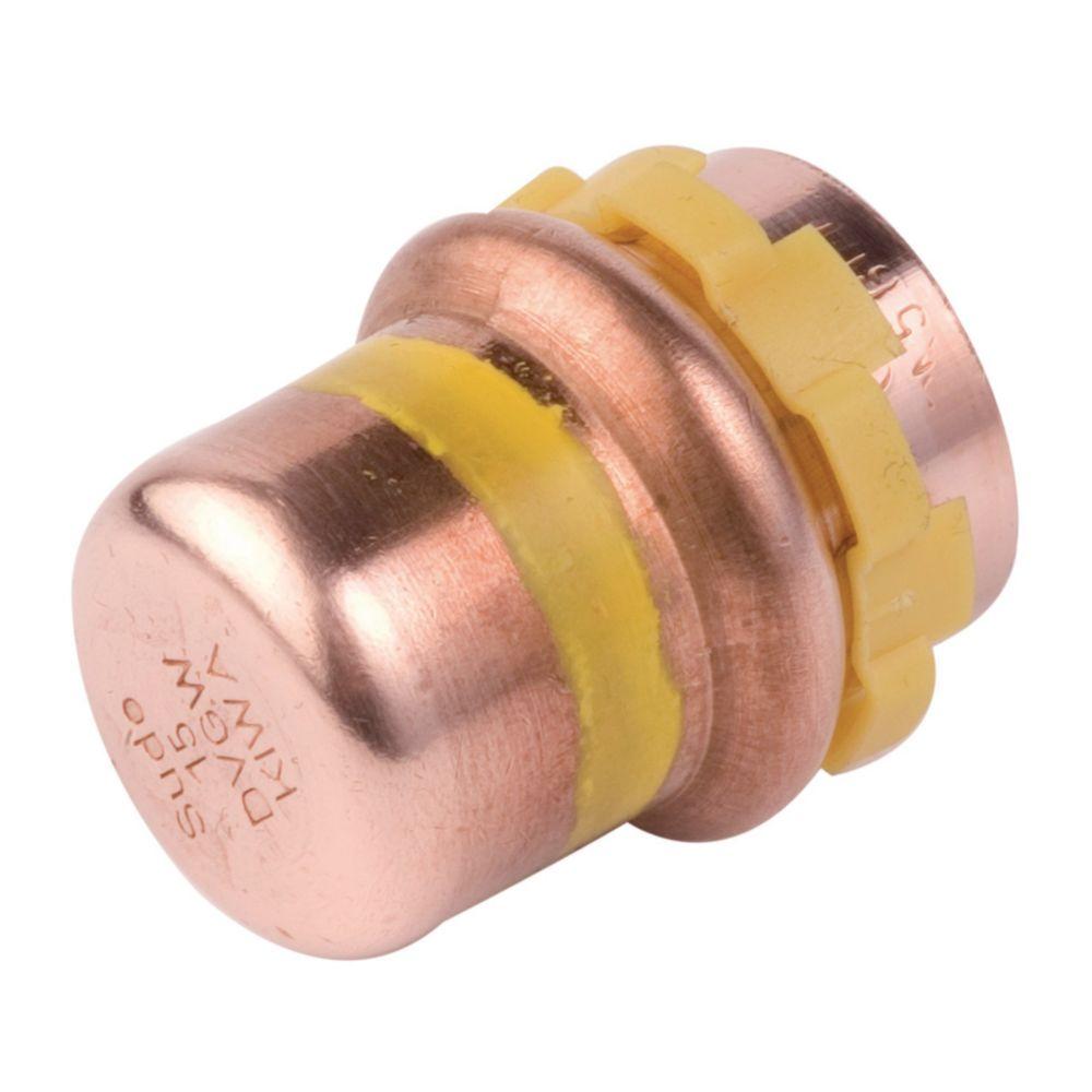 Comap bouchon à sertir - pour tube cuivre - gaz - diamètre 28 mm - comap 5301vg28