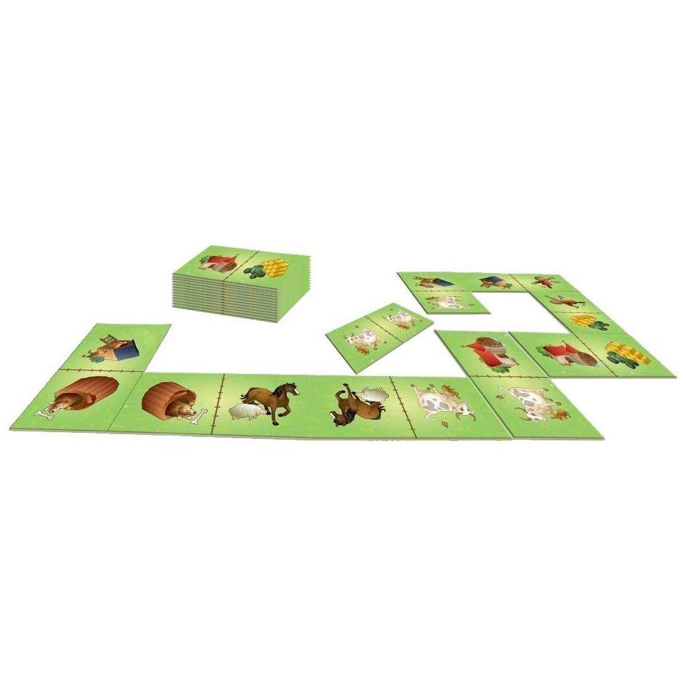 House Of Kids Dominos géants 28 pièces avec sac de rangement La ferme