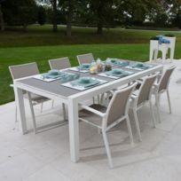 Tables de jardin Aluminium | Rue Du Commerce
