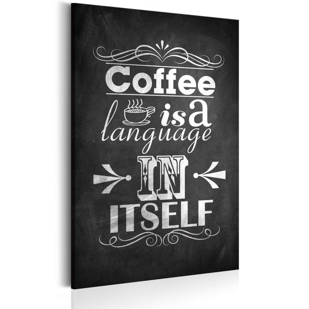Declina Tableau - Langage du café