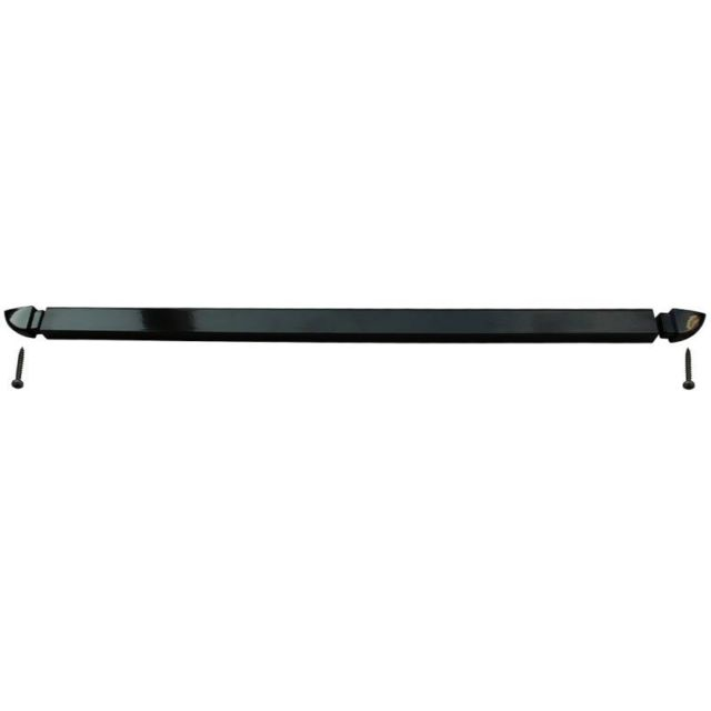 Slid'Up By Mantion -Rail 42 cm aluminium avec embouts coloris noir RAL 9005 pour motorisations WINEO et BRA-VO Slid'Up By Mantion  - Motorisation de volet