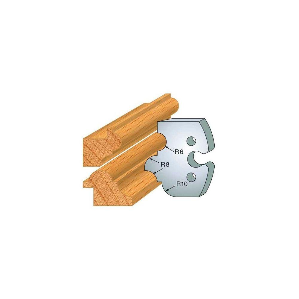 Leman Leman - Jeu de 2 fers profilés acier Ht.50 mm N°233