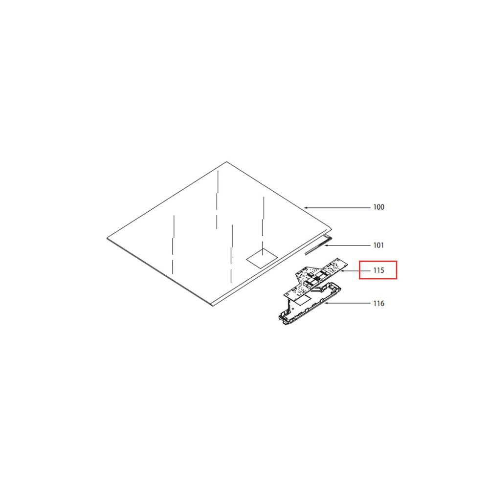 Sauter CARTE AFFICHEUR POUR TABLE DE CUISSON SAUTER - AS0039342