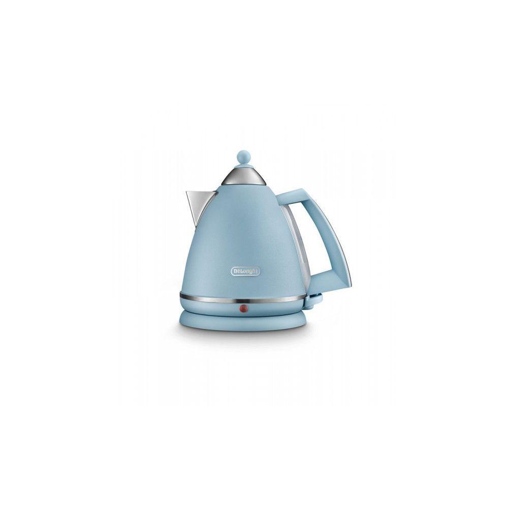 Delonghi DELONGHI Bouilloire 1.7 L - 2000W Bleu mat Argento Flora KBX2016.AZ