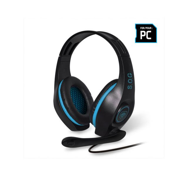 Spirit Of Gamer - PRO-H5 Blue - Filaire Spirit Of Gamer   - Micro-Casque Circum auriculaire