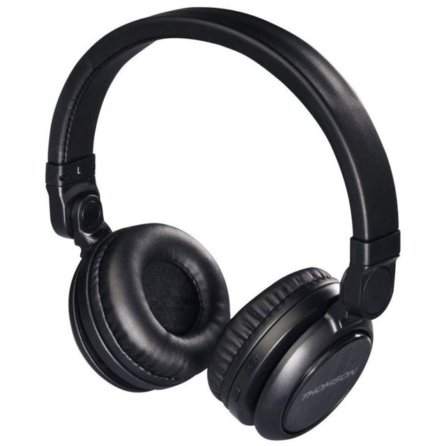 Casque Thomson Casque Bluetooth WHP6007B - Noir