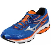 best website e2e49 4f870 Mizuno - Wave Connect 2 Ble - Chaussures Running Homme Multicouleur 39