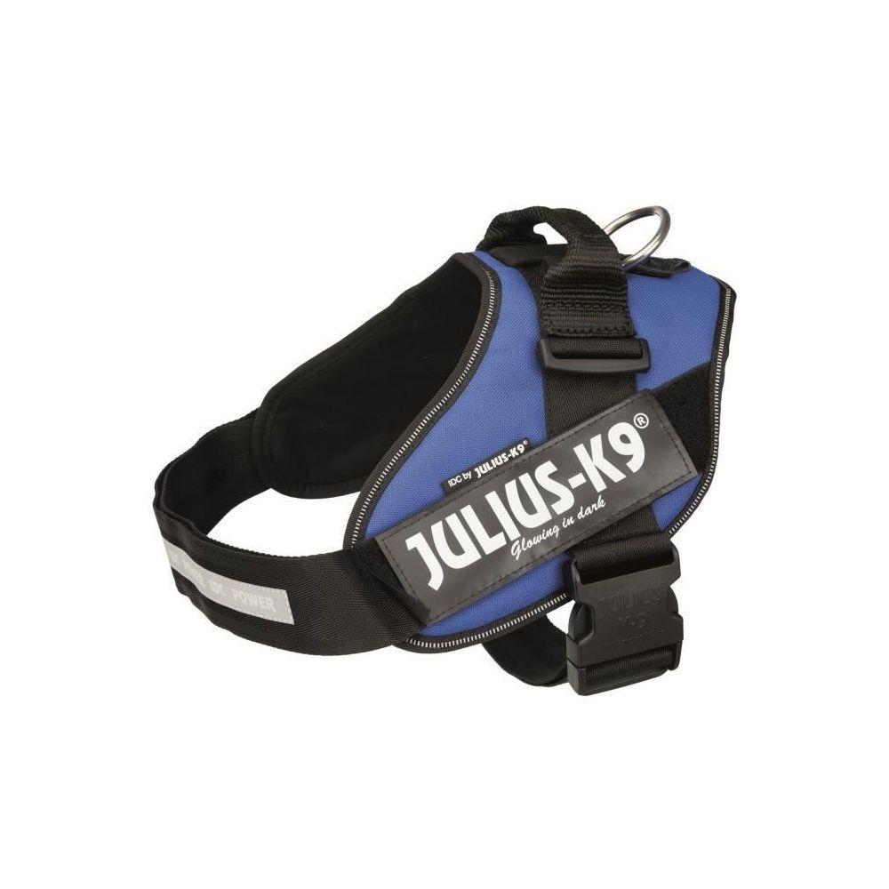 Julius K9 JULIUS K9 Harnais Power IDC 2–L–XL : 71–96 cm - 50 mm - Bleu - Pour chien