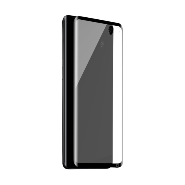 Force Glass - Verre trempe pour Galaxy S10 Plus - Transparent - Protection écran smartphone