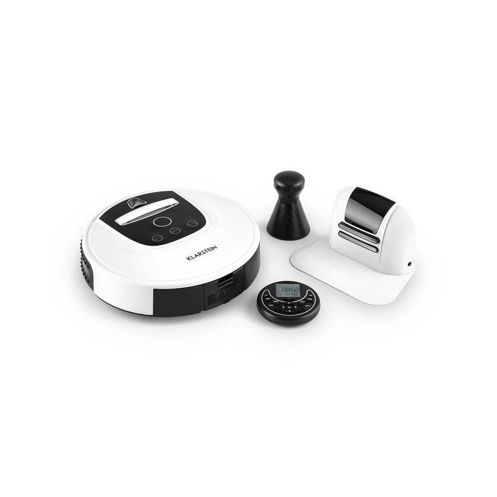 Klarstein Klarstein Cleanhero Robot aspirateur Automatique Télécommande blanc Klarstein