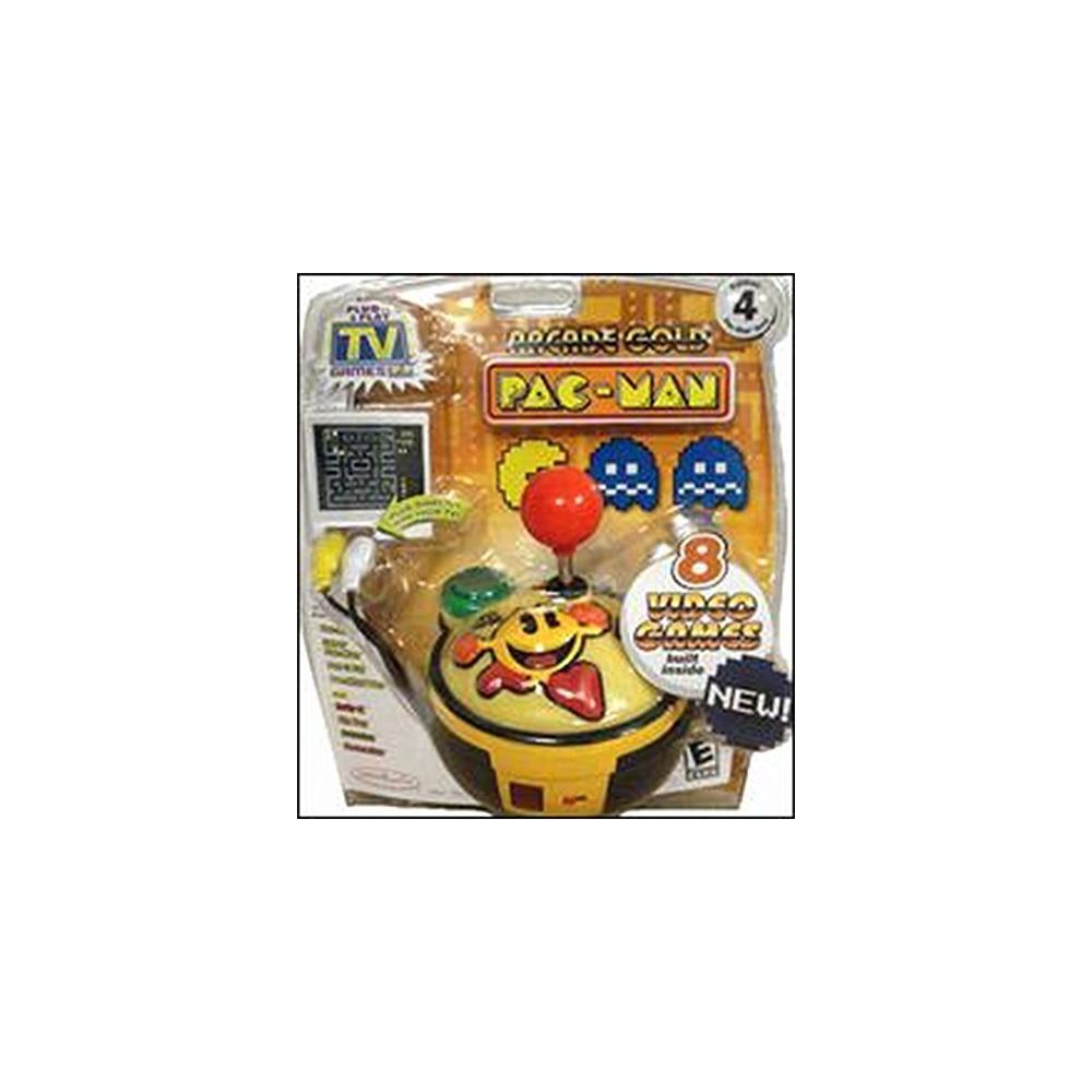 Namco PAC-MAN Gold Edition #4 Namco Collection of 8 Classic Arcade Games - Plug it in & Play