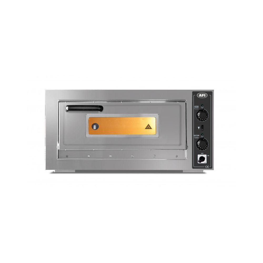 Materiel Chr Pro Four à Pizzas 6 Pizzas Ø 30 cm - 6 kW - AFI Collin Lucy -