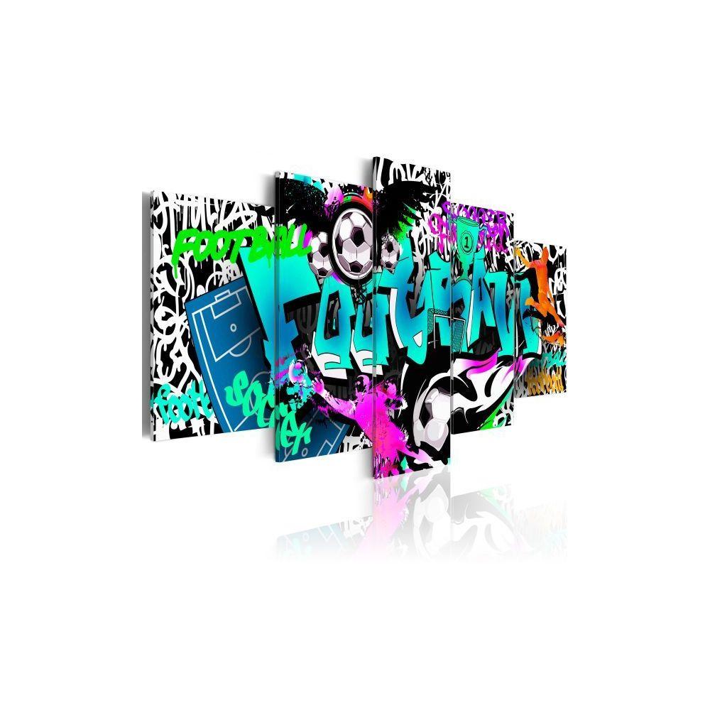Planete Discount Tableau Dream Match Taille 100 x 50 cm