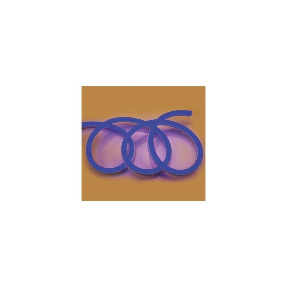 Vision-El Bobine neon flex led Bleu 50 m 230V ip65 27 x 15 mm