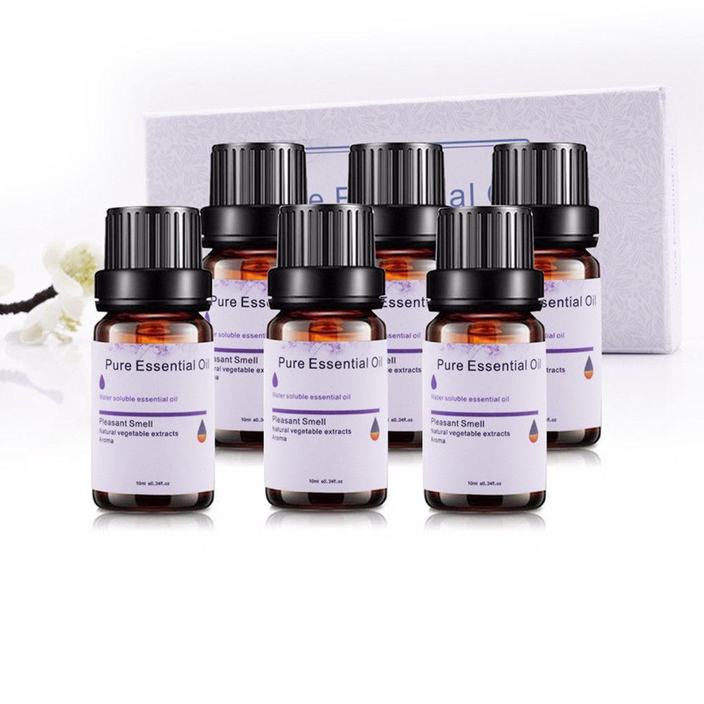 Generic 6PCS 10ml aromathérapie 100% pur, huiles essentielles naturelles et parfums