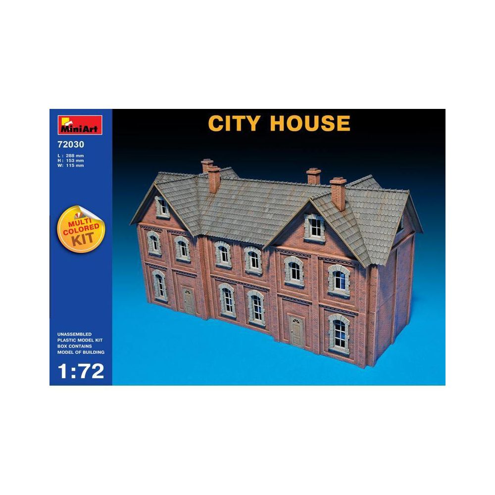 Mini Art City House - Décor Modélisme