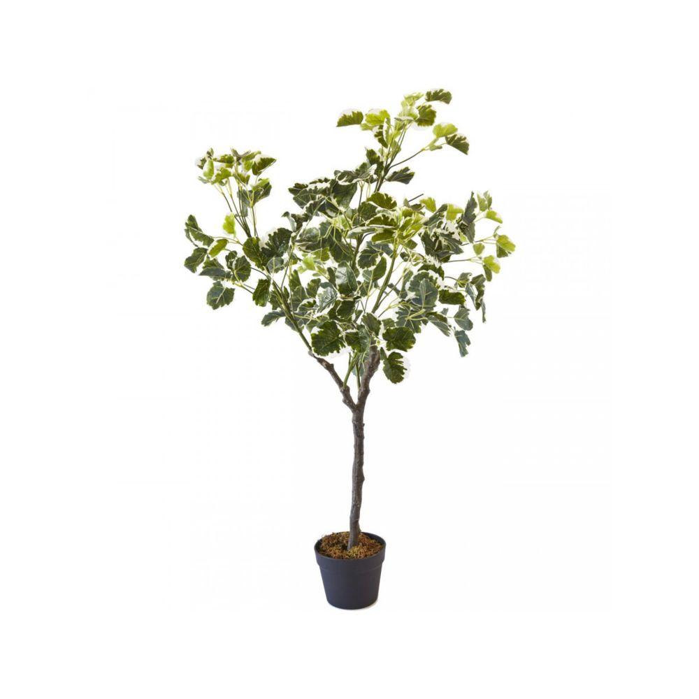 Bobochic BOBOCHIC Plante artificielle OLLA 210 feuilles et pot noir