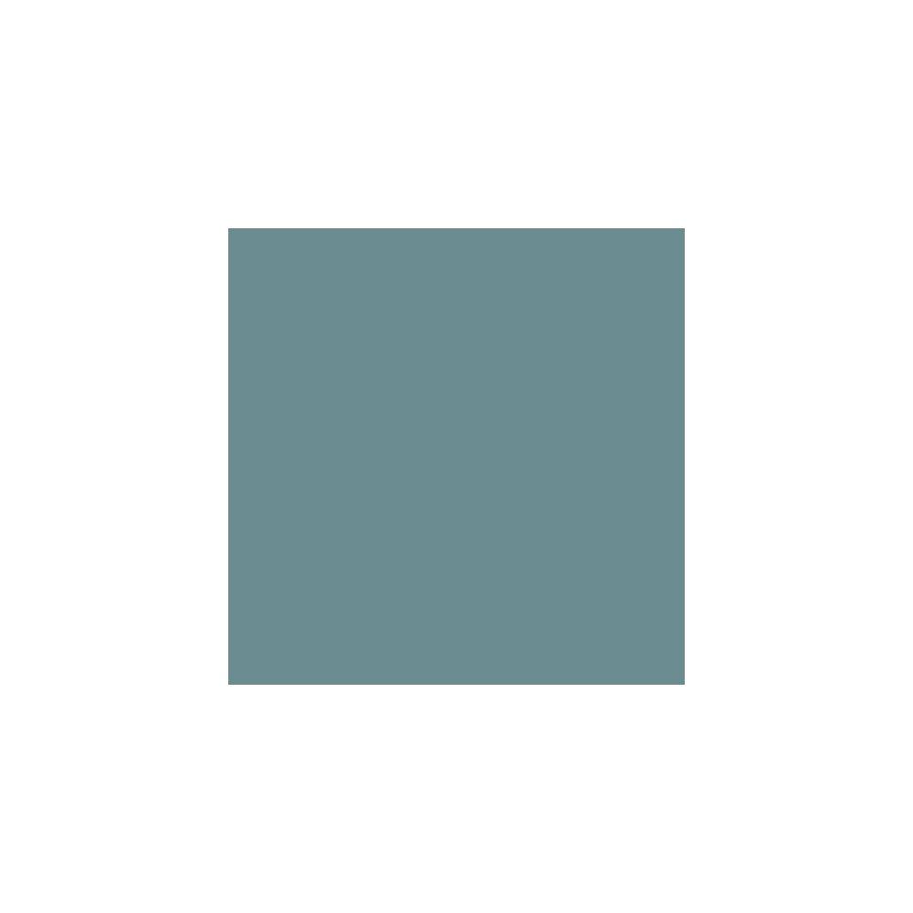 Adzif Biz Rouleau adhésif - Papier peint autocollant Aspect Satiné Turquoise Foncé (30 m x 61,5 cm)