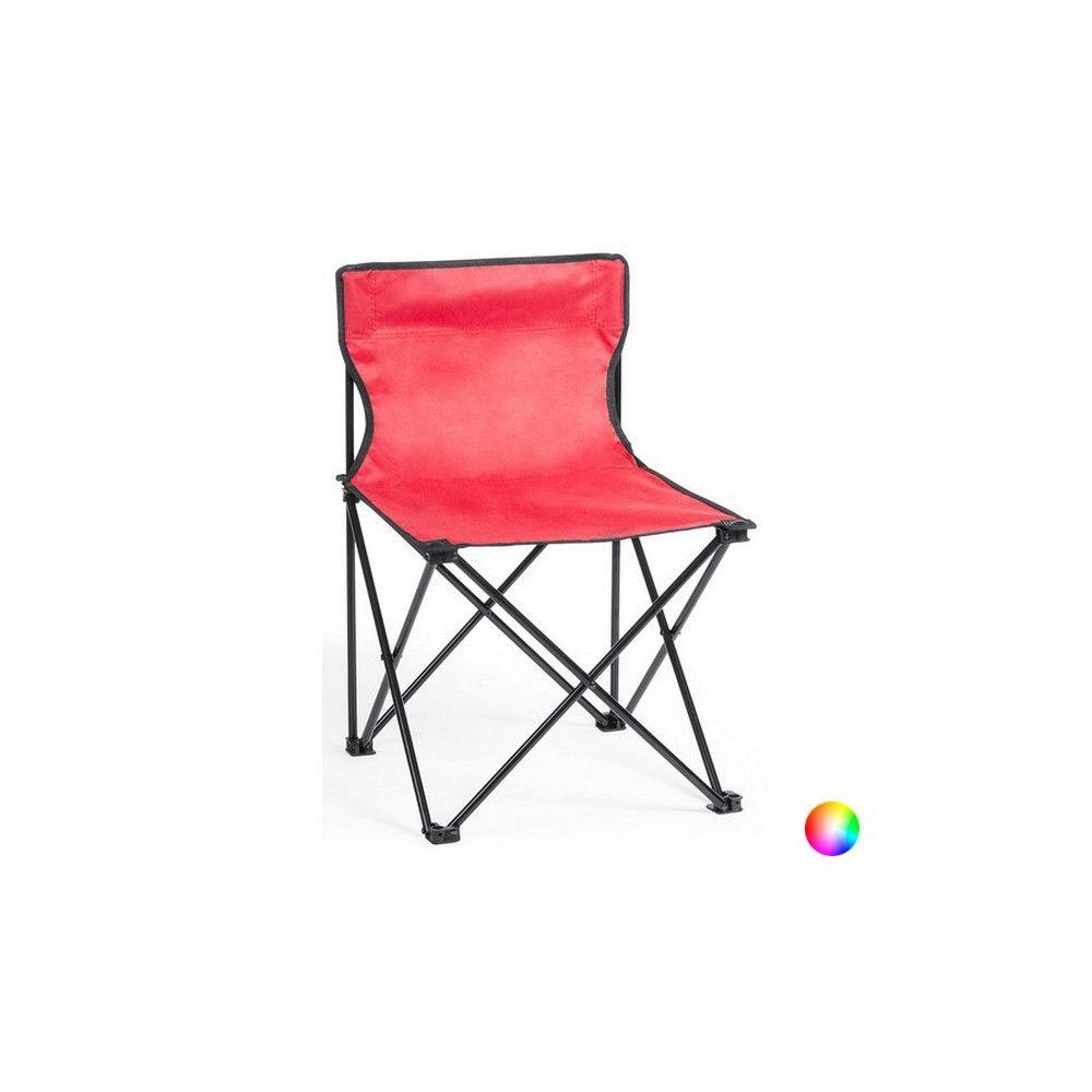 Totalcadeau Chaise Pliante aluminium avec étui - Chaise de voyage Couleur - Jaune