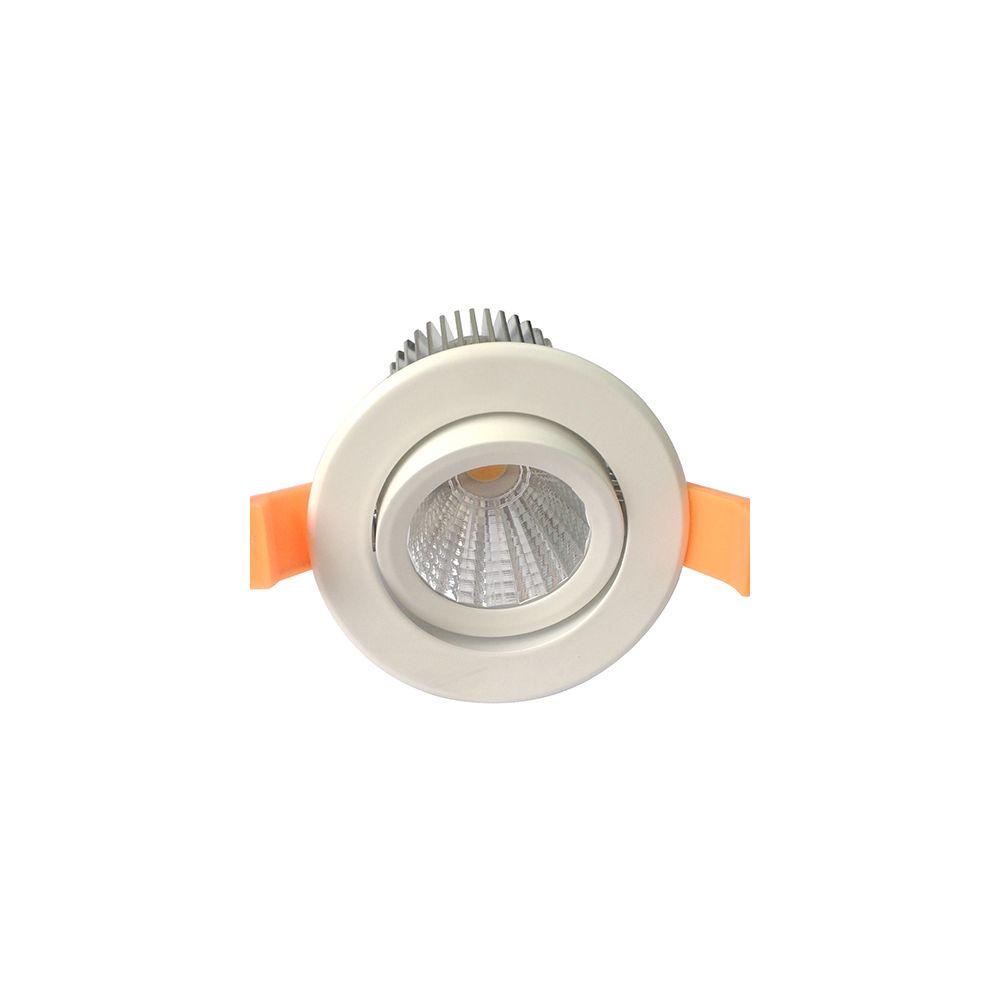 Girard Sudron Cavell Spot LED encastré inclinable IP65 - 10W - 4000K - Blanc
