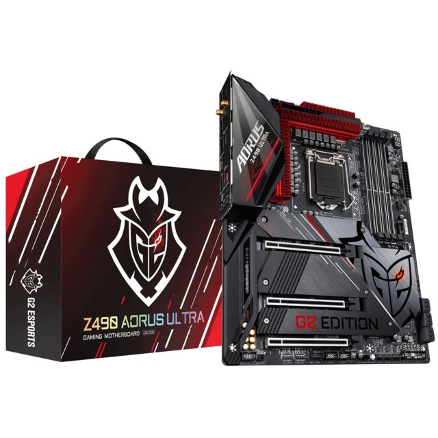 Gigabyte - Z490 AORUS ULTRA G2 Limited Edition - ATX - Carte mère Intel