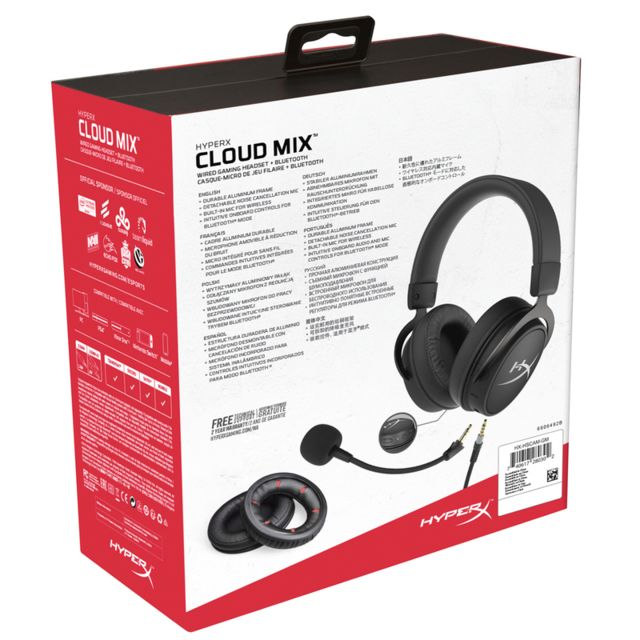 Micro-Casque Cloud MIX - Filaire + Bluetooth