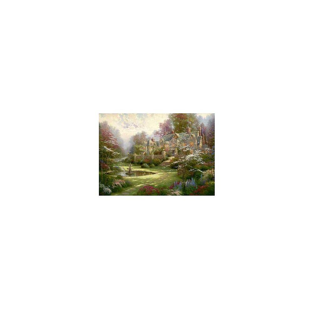 Schmidt Spiele Puzzle 2000 pièces - Thomas Kinkade : La maison de campagne