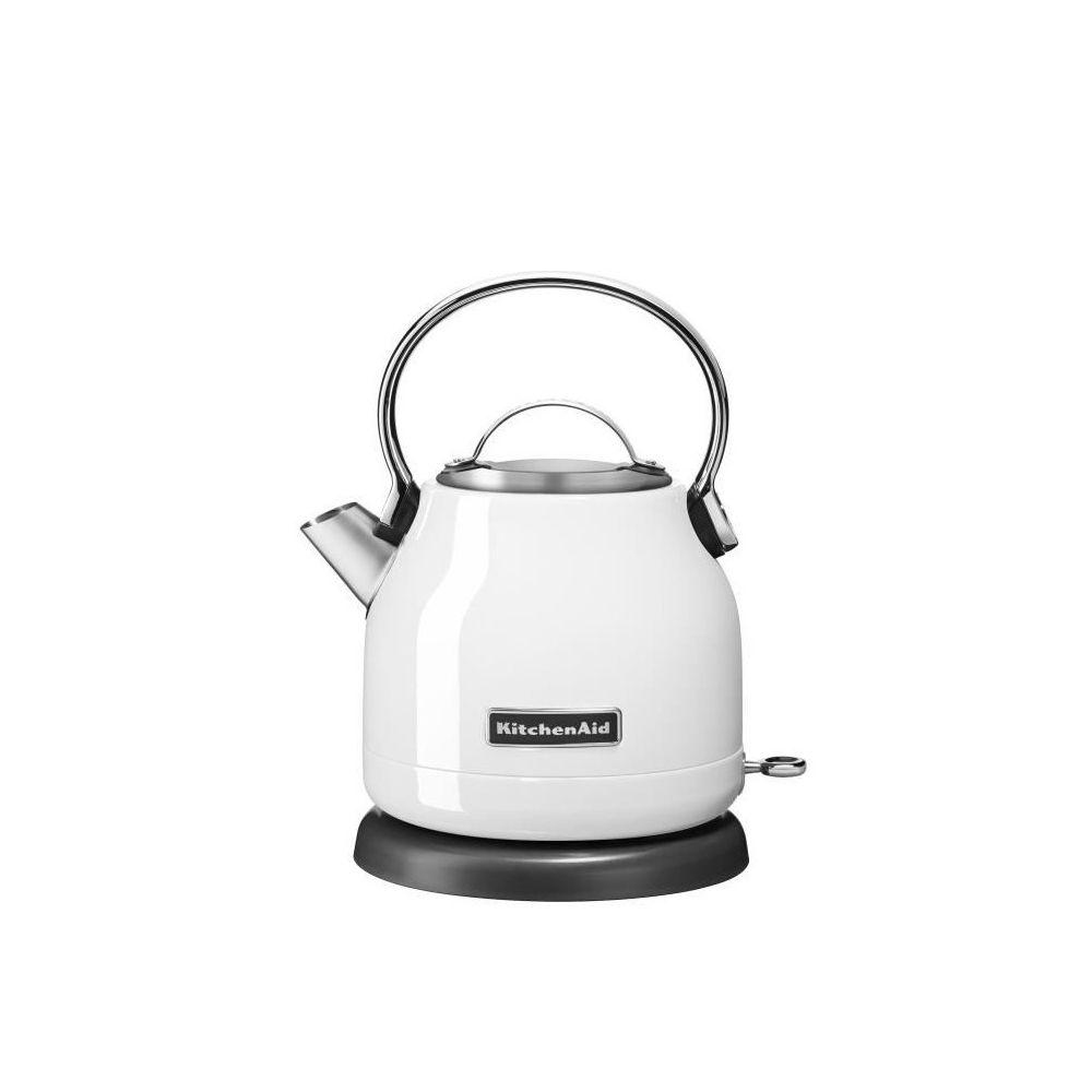 Kitchenaid Bouilloire de 1,25L CLASSIC - 5KEK1222EWH - Blanc