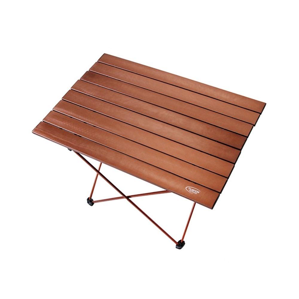 Wewoo Table de barbecue en aluminium de pique-nique d'aviation de camping se pliant léger de extérieur M taille 56x40.5x40.5cm