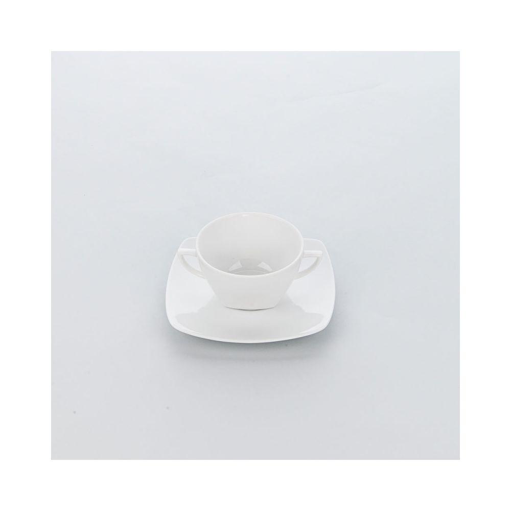 Materiel Chr Pro Bol Porcelaine avec Anses Apulia 380 ml - Lot de 6 - Stalgast - 11 cm Porcelaine 38