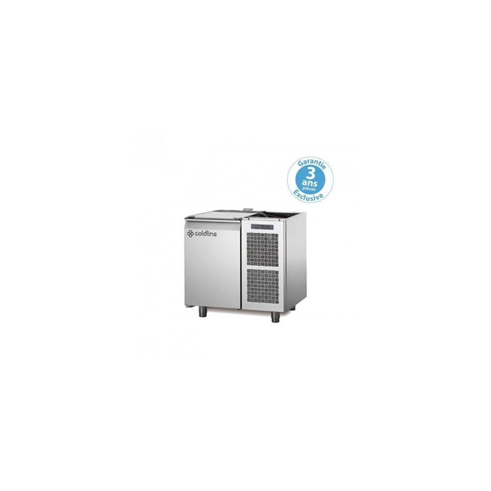 Materiel Chr Pro Table réfrigérée négative - groupe logé - 1 porte - 145 litres - profondeur 800 - 600 x 400 - sans dessus -