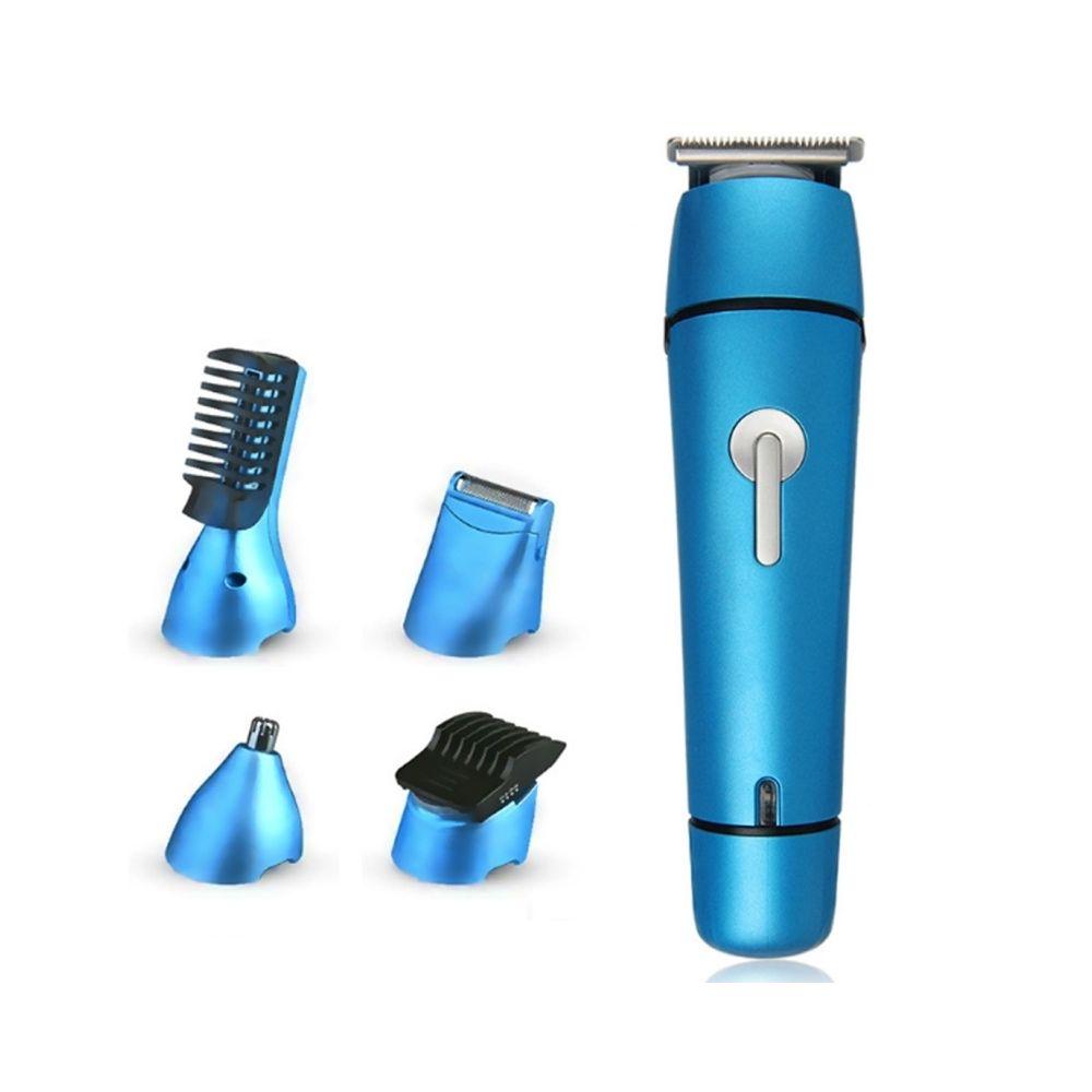 Wewoo 6 en 1 styliste multifonctions tondeuse à cheveux nez à rasoir de coupe ((prise UE)
