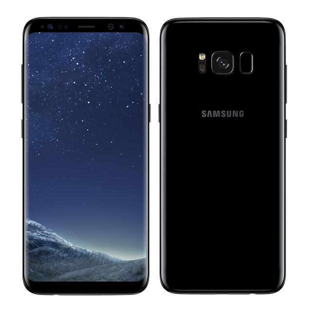 Samsung - Galaxy S8 - 64 Go - Noir Carbone - Smartphone Android