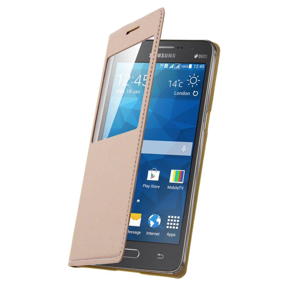 Avizar - Etui Clapet Fenêtre Samsung Galaxy Grand Prime - Housse ...