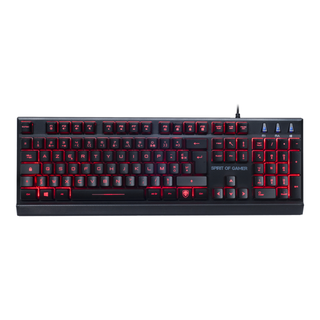 Spirit Of Gamer - ELITE-K10 - Membrane - Clavier Gamer