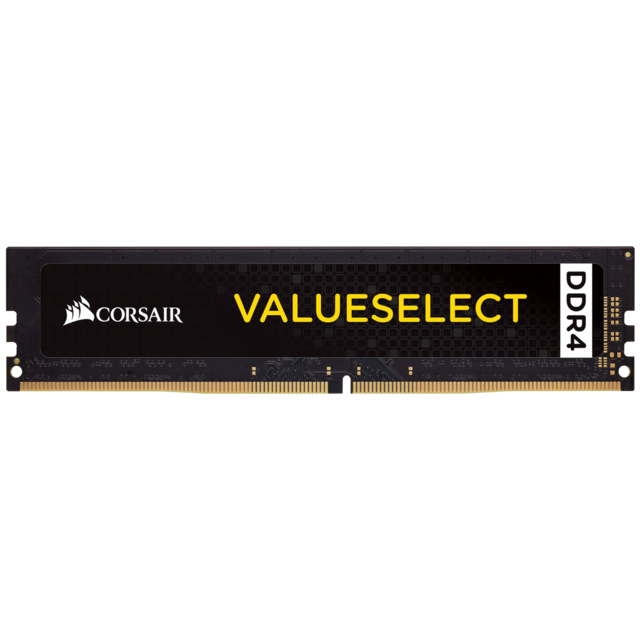 Corsair - Value Select - 1 x 8 Go - DDR4 2400 Mhz - Noir - RAM PC