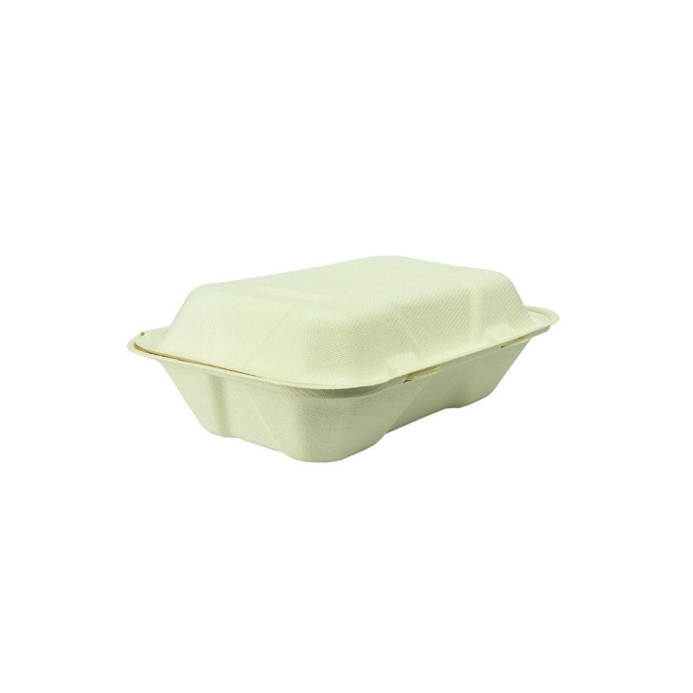 Materiel Chr Pro Boîte Repas en Bagasse Compostable - Lot de 200 - Vegware -