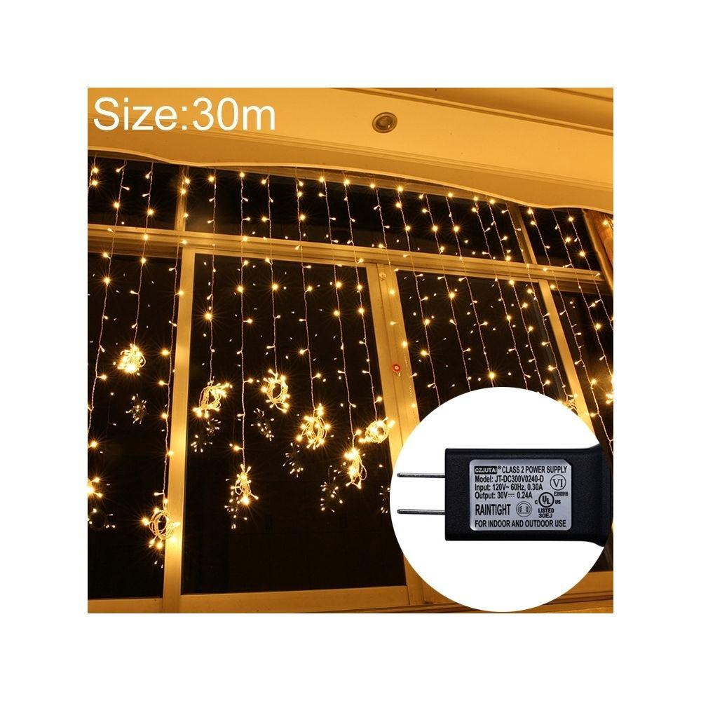 Wewoo Guirlande LED UL588 lumière de rideau étanche IP43, décorative fée 300 avec joint d'extrémité et 8 fonctions modèle, pri
