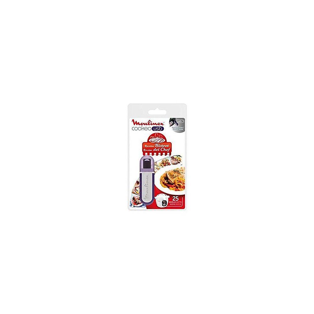 Moulinex MOULINEX Clé USB Cookeo 25 recettes Bistrot Réf. XA600411