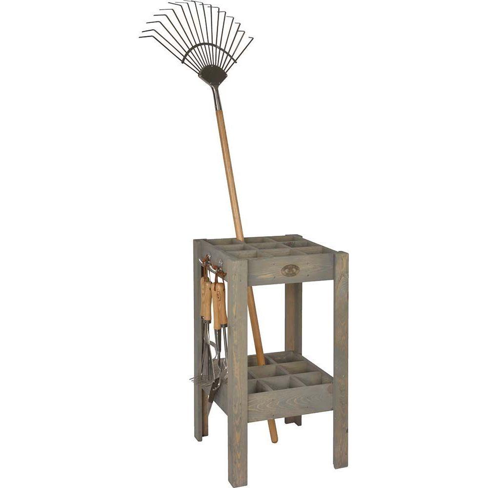 Esschert Design Range outils en pin et métal
