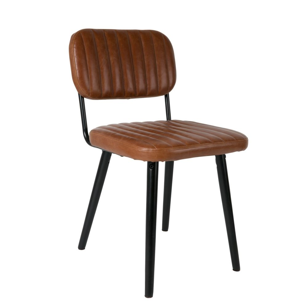 Boite A Design Chaise design scandinave JAKE simili cuir