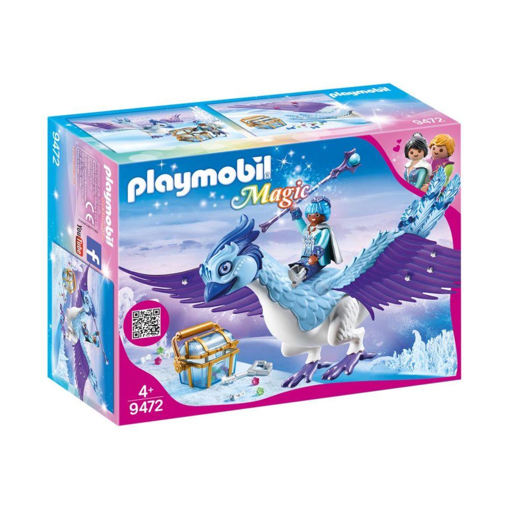 Playmobil PLAYMOBIL 9472 Magic - Gardienne et Phénix royal